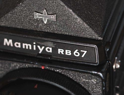 The Mamiya RB67 Pro S