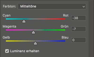 color balance layers